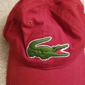 Lacoste Red Hat